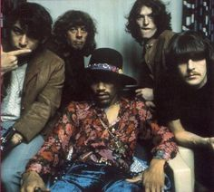 Jimi Hendrix and Eric Burdon