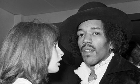 Jimi-Hendrix and Kathy Etchingham