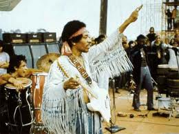 Jimi Hendrix frills fashion