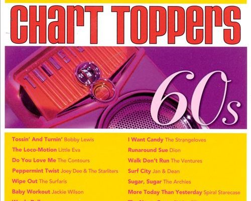 1960s Rock music charts